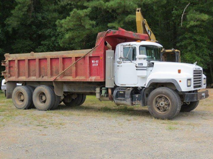 Dump Truck on dirt