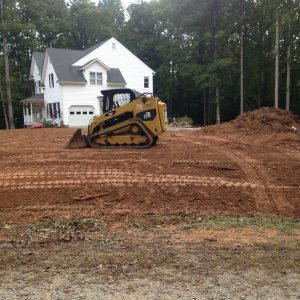 Whaley Excavating, Inc. clearing land